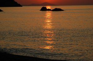 Solopgang på Skopelos